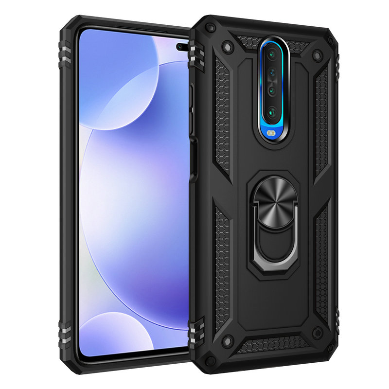 For <font><b>Xiaomi</b></font> <font><b>Redmi</b></font> <font><b>K30</b></font> 5G Metal Ring Hard Phone Case for <font><b>Xiaomi</b></font> Mi 9T Pro 6GB 64GB 8GB 128GB <font><b>256GB</b></font> Armor Case Back Cover Capa image