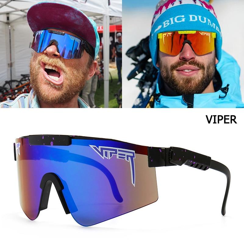 Jackjad 2021 moda legal plano superior escudo estilo à prova de vento óculos de sol viper marca esportes ao ar livre passeio óculos sol oculos de sol