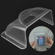 Keypad-Accessories Doorbell-Cover for Outdoor Waterproof Transparent-Shell Office Universal