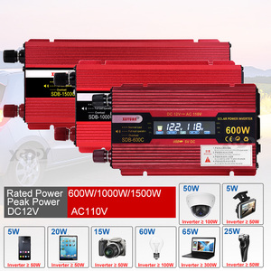 Xuyuan 1500w Inverter Car Power Converter Inversor 12 V 110 V for Car Household Diy 1500w 1000w 600w Power Inverter Us Adapter