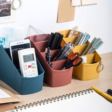 Plastic Multi-Grid Desktop Storage Box Living Room Cosmetics Bedroom Decoration SDF-SHIP