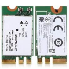 2.4G + 5G Dual-Band bezprzewodowa karta sieciowa QCNFA435 NGFF / M.2 interfejs dla Lenovo IdeaPad 510-15IKB 510S 520S 530S 110 120S E470