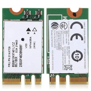 2.4G+5G Dual-Band Wireless Network Card QCNFA435 NGFF / M.2 Interface for Lenovo IdeaPad 510-15IKB 510S 520S 530S 110 120S E470