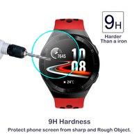 2.5D 9H الزجاج المقسى لهواوي ساعة GT 2e Smartwatch حامي الشاشة هواوي ساعة GT 2e المضادة للخدش واضح HD الزجاج واقيات الشاشة الأجهزة الإلكترونية الاستهلاكية -