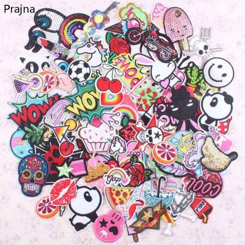 30Pcs Random Mixed Anime Patch Set Iron Sew On Patches Cartoon Cute Embroidered Applique Patches For Clothes Patch Stickers custom embroidered patches customized logo factory direct embroidered iron on sew on patch welcome to custom your own patch