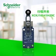 цена на Optimized toggle micro-travel limit switch XCKJ10541H29C 2P, 1NC 1NO momentary spring return roller rocker