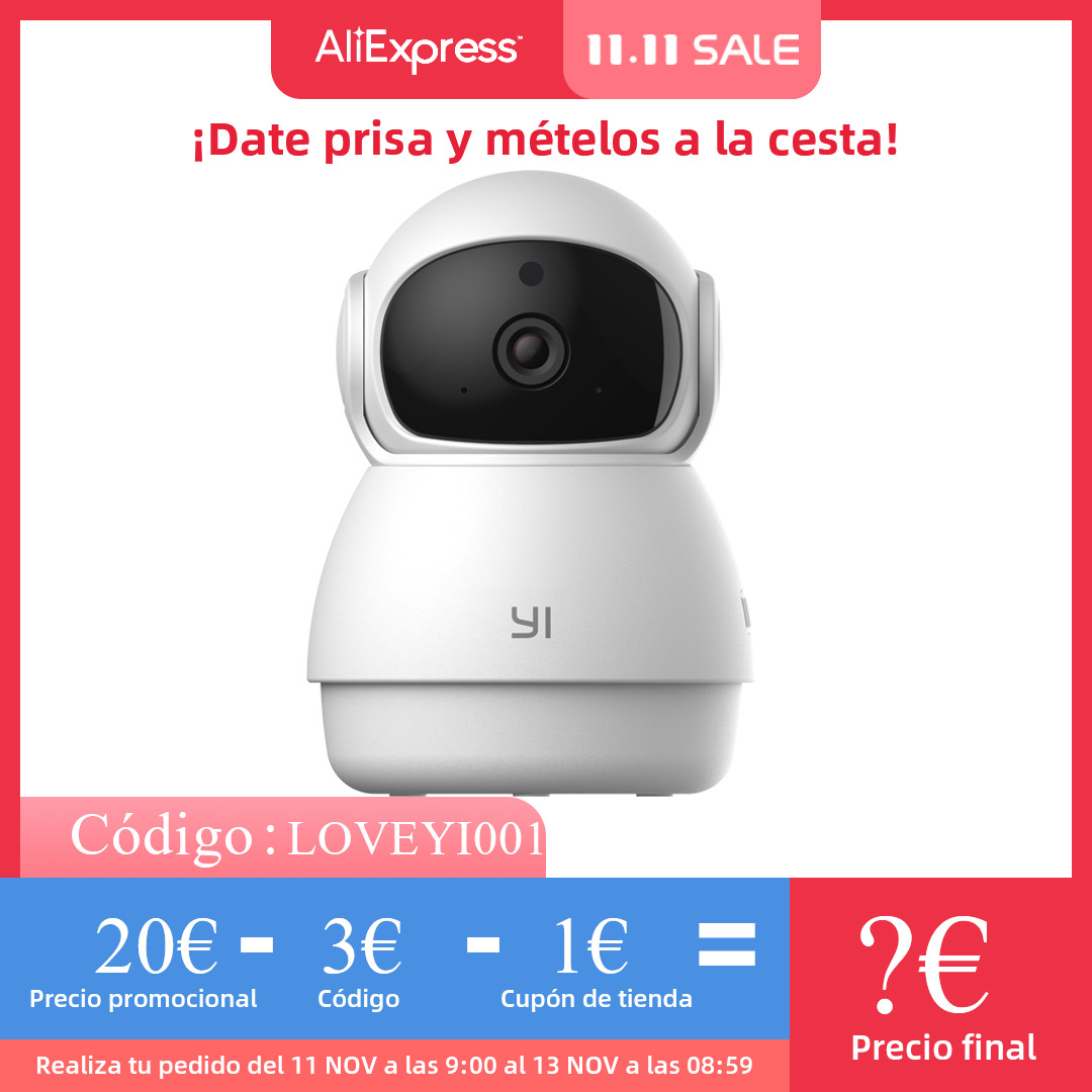 YI Dome Guard Camera Indoor AI Powered 1080p Security Home Surveillance System Human & Motion Detection Abnormal Sound Detection Surveillance Cameras  - AliExpress