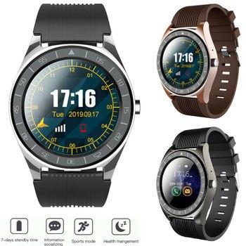 V5 Bluetooth Smart Watch Men With Camera Facebook Whatsapp Twitter Heart Rate Monitor Waterproof Blood Pressure Smartwatch