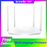 Router Wireless Tenda WiFi6 AX3 AX1800 2.4/5GHz Dual-Band 2033Mbps OFDMA ripetitore Wifi con Antenna 4 * 6dBi VPN multilingue