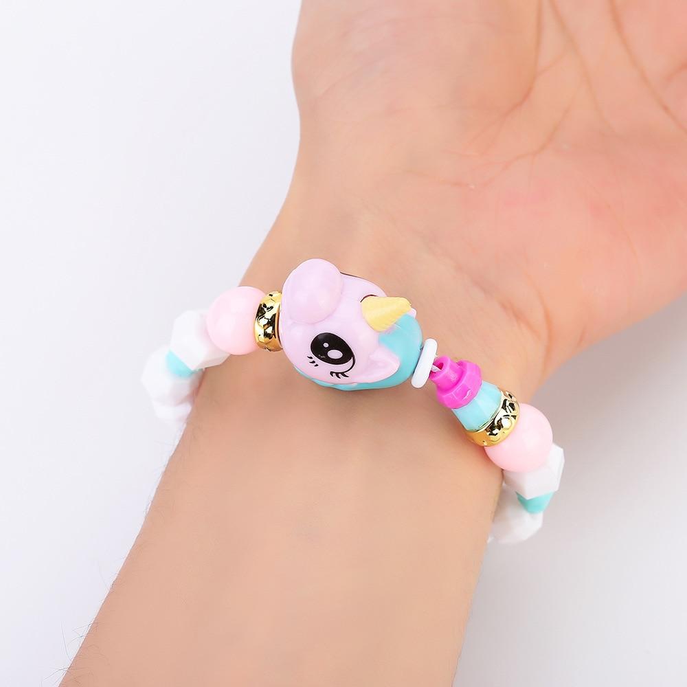 Lian Ai Elves Transformation Animal Combination Beaded Bracelet Flexible Bracelets CHILDREN'S Toy Bracelets DIY Magic Bracelets