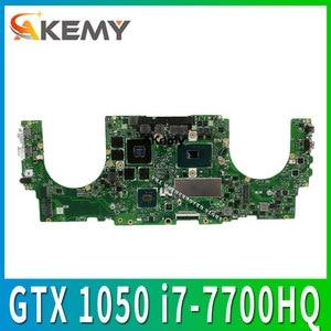 Ux550vd placa-mãe do portátil para asus ux550vd ux550v ux550ve proux550 placa-mãe gtx 1050/4 gb i7-7700HQ 16 gb ram