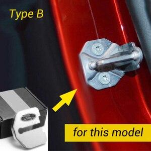 Image 3 - フォード久我focus mustangエクスプローラモンデオedge牡牛座F150 2008 2020 車のドアロックカバー保護キャップケーススタイリング