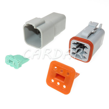 1 Set 6 Pin Deutsch DT DT06-6S DT04-6P Gas Accelerator Pedal Plug Automotive Connector Socket image
