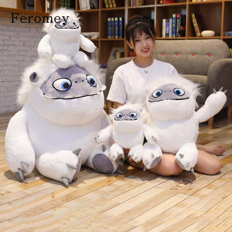 Kawaii Movie Abominable Snowman Plush Toy DolI Abominable Figures Doll Soft Stuffed Toys For Children Kids Baby Gift 23cm