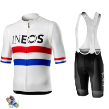 2019 New INEOS Summer Cycling Jersey Set Breathable Team Racing Sport Bicycle Mens Clothing Short Bike NW