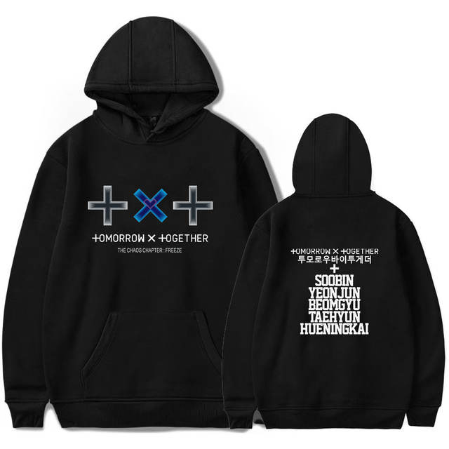 TXT FIGHT OR ESCAPE TOMORROW THEMED HOODIE