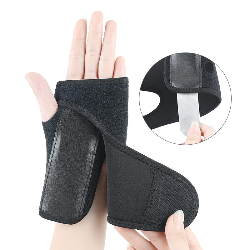 Amazon Hot Sales For Both Men And Women Athletic Wristguards Sprain Fixed Protective Clothing Steel Plate Support Plywood Protec