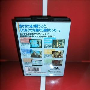 Image 2 - Twinkle Tale Japan 박스 및 설명서 커버 MD MegaDrive Genesis 비디오 게임 콘솔 16 비트 MD 카드