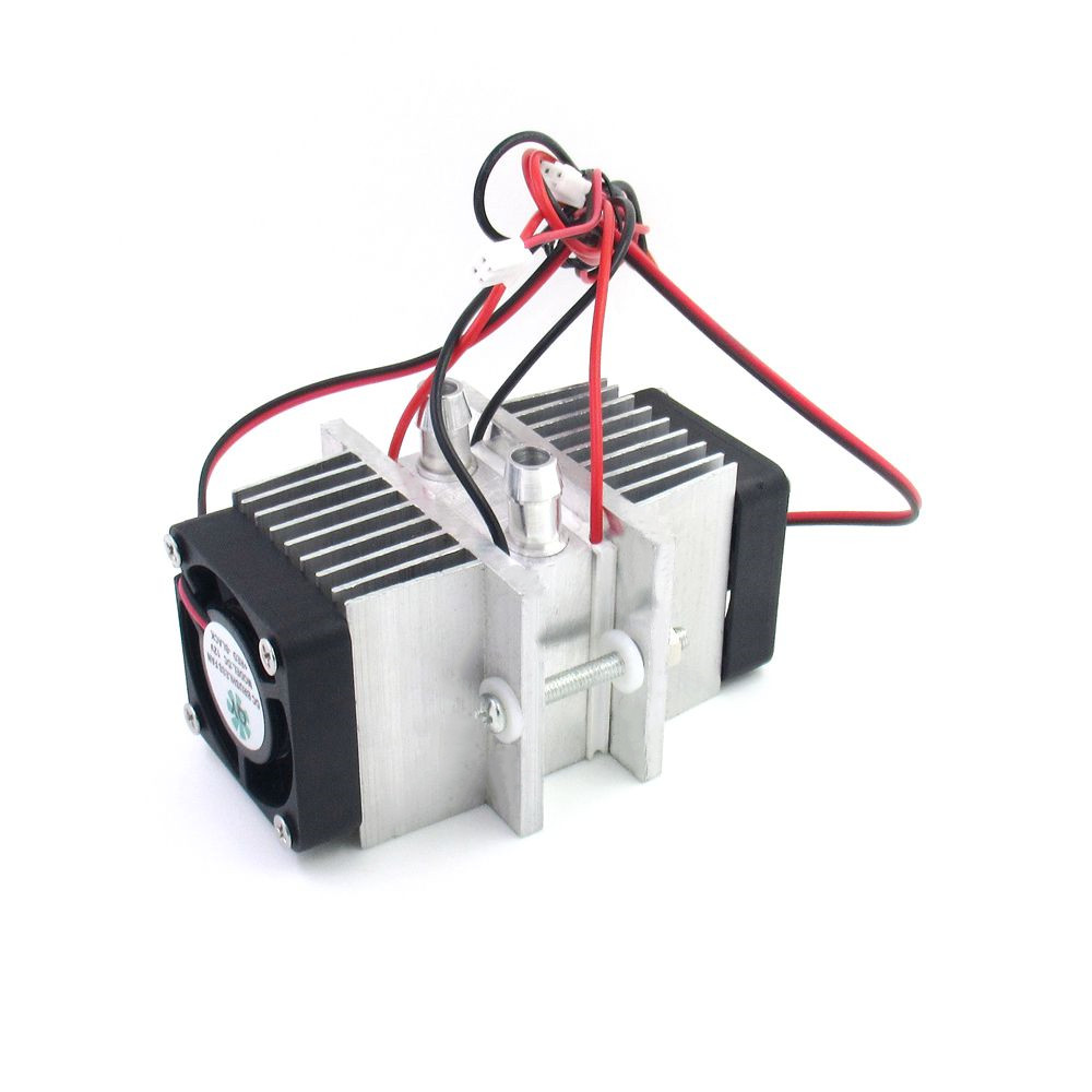 DIY Semiconductor Refrigeration System Kit Mini Refrigerator Cooler 12V Conduction Module+Water Cooling Head+Fan+TEC1-12706