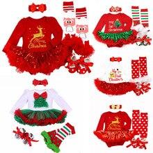 Newborn Baby Girl Clothes Brand Baby 4Pcs Clothing sets Tutu