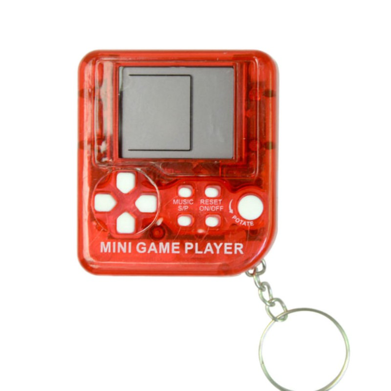 Mini Retro Classic Childhood Tetris Handheld Game Players LCD Electronic Games Toys Game Console Riddle Educational Toys