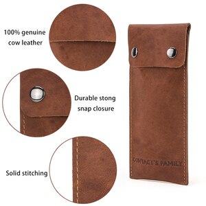 Image 4 - Защитная сумка для часов из натуральной кожи, стильные зеленые брендовые дорожные Чехлы для влюбленных