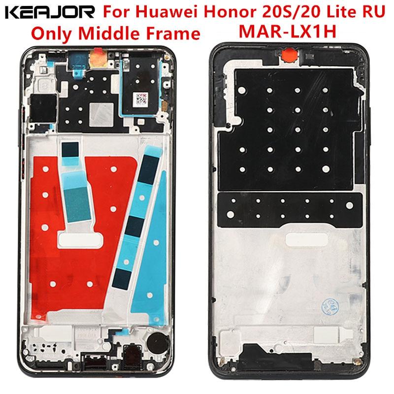Только для средней рамки для Huawei Честь 20S MAR-LX1H экран прошел тестирование плиточная панель корпусом, запасные части для Huawei Honor 20 Lite ру