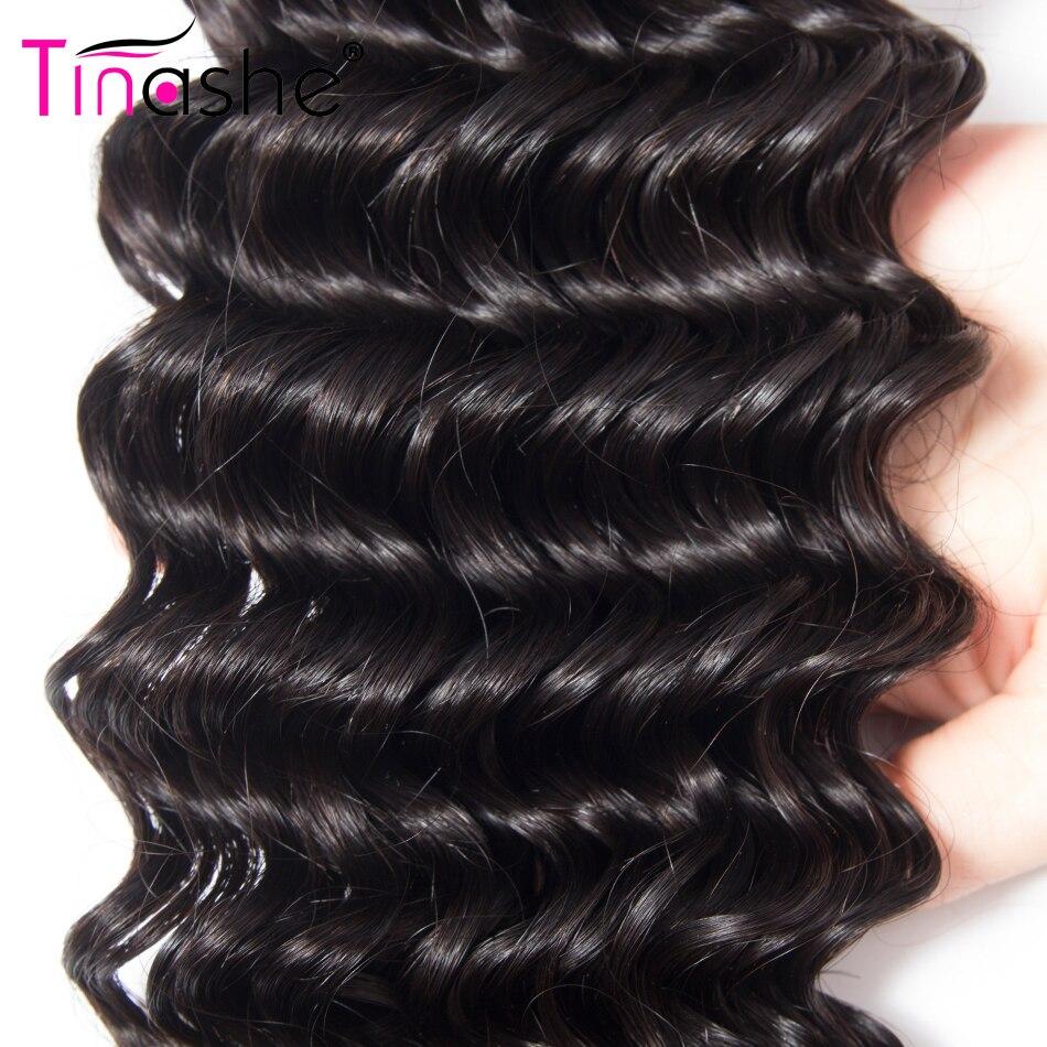 Hba1b81ff01d74de981756d941b05a893y Tinashe Deep Wave Bundles With Closure 5x5 6x6 Lace Closure And Bundles Remy Brazilian Human Hair Weave 3 Bundles With Closure