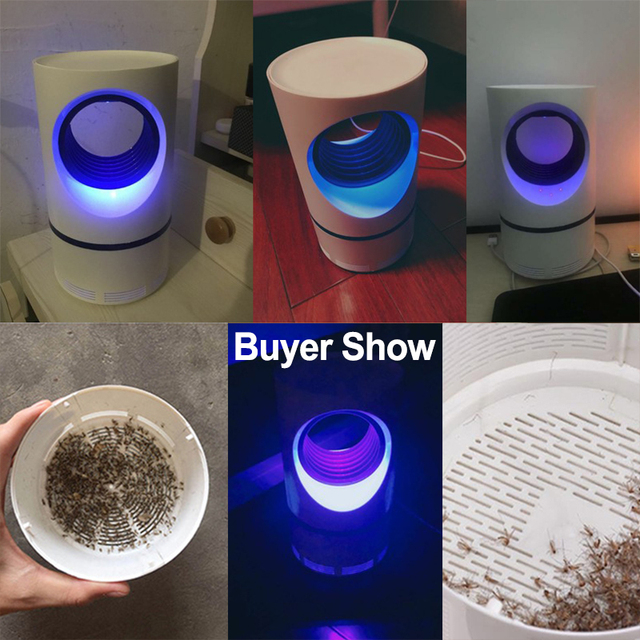 Electric USB Mosquito Killer Lamp Bug Zapper Muggen Insect Killer Anti Mosquito Trap Fly UV Repellent Lamp Outdoor Dropshipping Home Decor & Toys