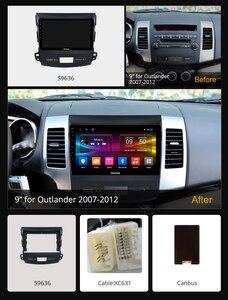 Image 2 - Ownice Dsp Android 9.0 Auto Radio Gps Speler Navi Voor Mitsubishi Outlander 2007 K3 K5 K6 4G Octa Core radio 360 Panorama Optische