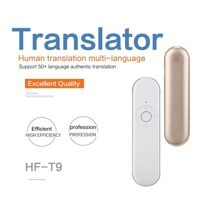 Portable T9 traducteur de langue Muama Enence traducteur instantané multi-langue intelligent voix WIFI traducteur Tradutor