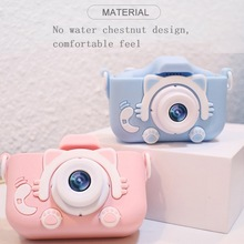 Children's-Camera Mini Cute with Game Toy Cat Education-Toys for Kids 2-In-1x5 Birthday-Gift