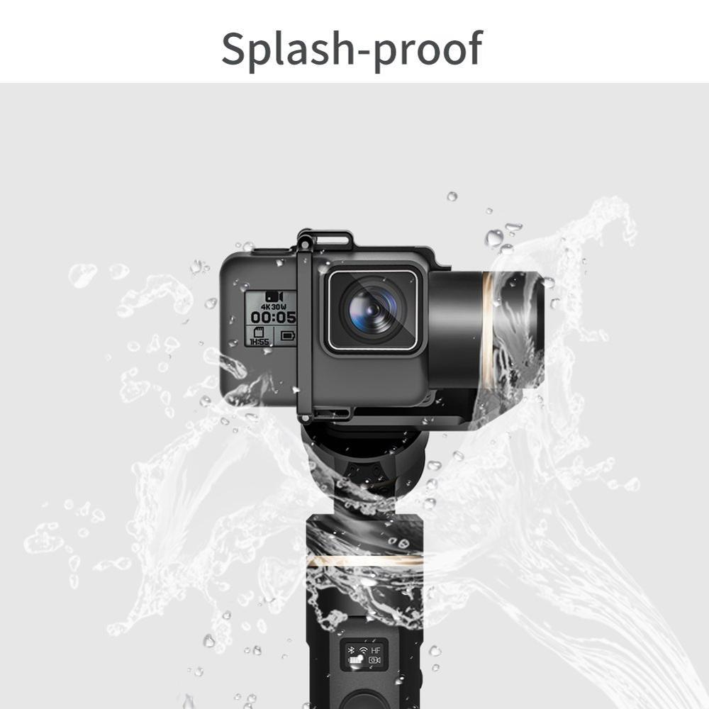 FeiyuTech Feiyu G6 3-Axis cámara de acción de mano cardán estabilizador pantalla OLED para Gopro Hero 7 6 5 Sony RX0 Yi cam 4K - 5