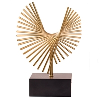 New Retro Furnishings Home Decoration Creative Simple Art Living Room Modern Office Cabinets Ornaments Statue Decor Crafts Displ