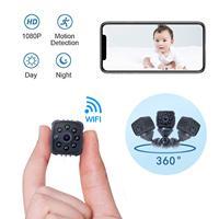 HD 1080P DVR Mini Camera DV Camcorder Infrared Night Vision Micro Small Camera Motion Detection Video Recorder Pocket Cam SQ11