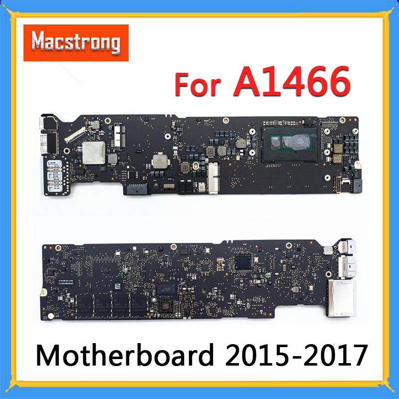"Tested Original A1466 Logic Board For MacBook Air 13"" A1466 Motherboard 2015 2016 2017 1.6G 4GB/8GB 1.8G/2.2G 8GB  820-00165-A"