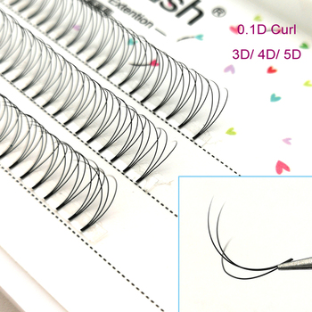 0.10C/D curl 2D-5D volume black eyelashes natural soft eye Lash ,individual eyelashes, false mink lash eyelash extesnion