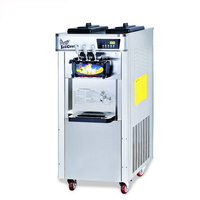 BS-838 Comercial Máquina de Sorvete Cone Máquina Automática Vertical Macio Máquina de sorvete Máquina De Sorvete de Aço Inoxidável