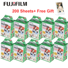 Белая пленка Fujifilm Instax Mini 10-200 листов для FUJI Camara Instantanea Mini 9 Mini 8 7s 70 90+ акриловая фоторамка