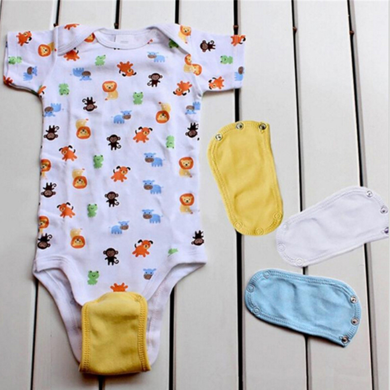 Baby Romper Partner Super Utility Body Suit Jumpsuit Romper Lengthen Extend Film 4 Solid Colors For Kids Girls Boys Gift