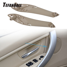 Car Left Right Interior Inner Door Armrest Panel Handle Pull Trim Cover for BMW 3 Series 2012-2018 F30 F34 F35 Car Accessories car inner handle inner door panel pull trim cover left right for bmw 3 series e90 e91 316 318 320 325 328 car interior door hand