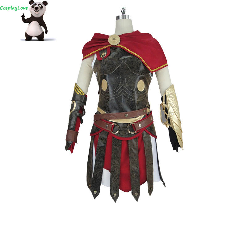 CosplayLove European And American-Style Game Odyssey Kassandra Cosplay Costume For Grils Women Halloween Christmas Custom made