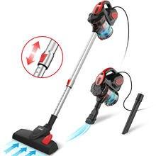Inse doméstico com fio aspirador de pó 18kpa potência sucção aspirador de pó do carro vertical aspirador de pó limpo handheld aspiradora