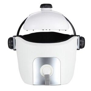 Image 5 - Head Massager Eye Massager 2 in 1 Relieve Stress Promote Sleep Music Massage Helmet Automatic Infrared Pressure Head Massager