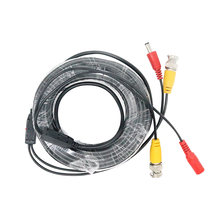 CCTV Cable BNC and DC Connector Coaxial Security Surveillance BNC Cable For AHD CCTV Camera system