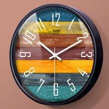 Настенные часы в скандинавском стиле металлические большие бесшумные