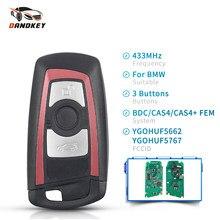 Dandkey 434 МГц 868 МГц 315 МГц 3/4 кнопки дистанционный ключ для BMW 5 7 F серии X5 X6 F20 F21 F30 F31 2009-2016 Фем/BDC CAS4 +