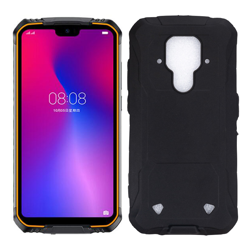 For <font><b>Doogee</b></font> <font><b>S68</b></font> <font><b>Pro</b></font> Ultra Thin Black Matte Soft TPU Case Drop-proof Cover For <font><b>Doogee</b></font> <font><b>S68</b></font> <font><b>Pro</b></font> Soft TPU Case image