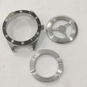 Image 2 - Piezas de reparación de espejo de cristal de zafiro, carcasa trasera de reloj, acero inoxidable, para T461/T035627A/T099407A/T044417A/T100417A