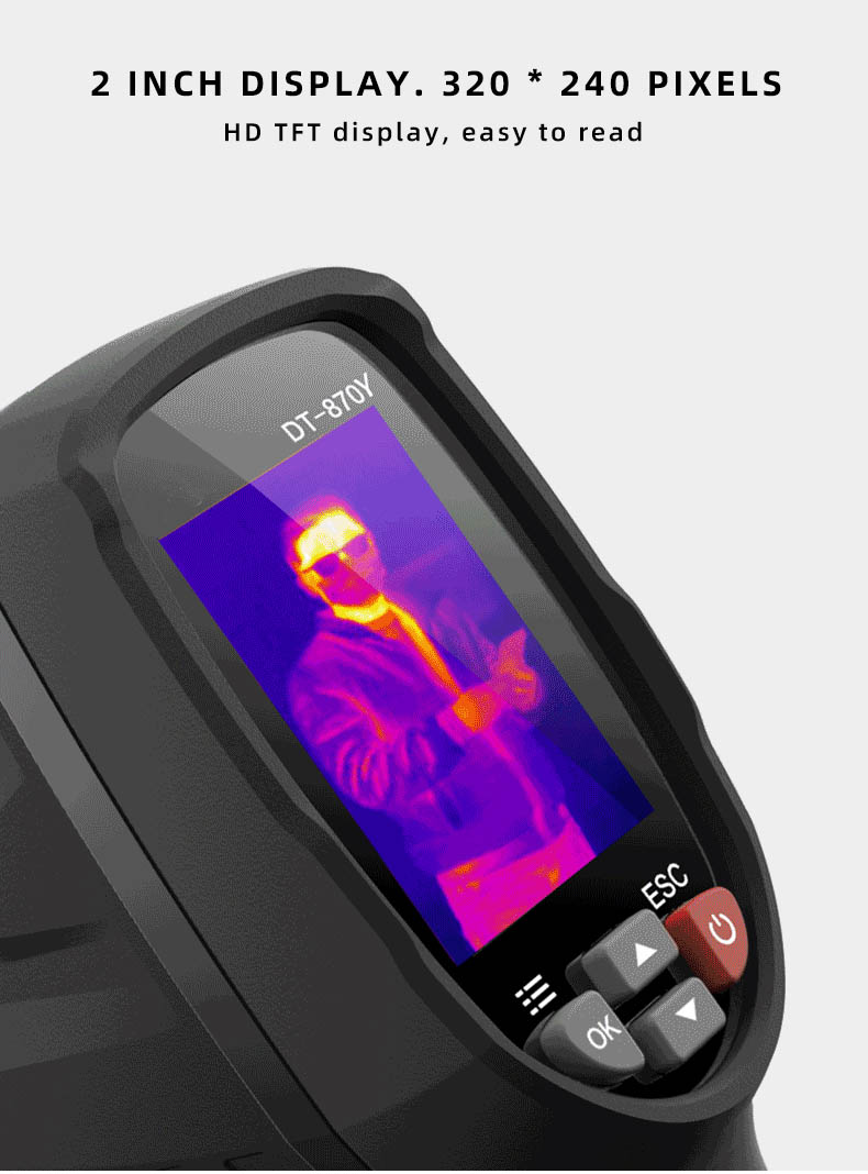 Infrared Thermal Camera With Live Streaming to Computer or TV Bluetooth For Human Body 31
